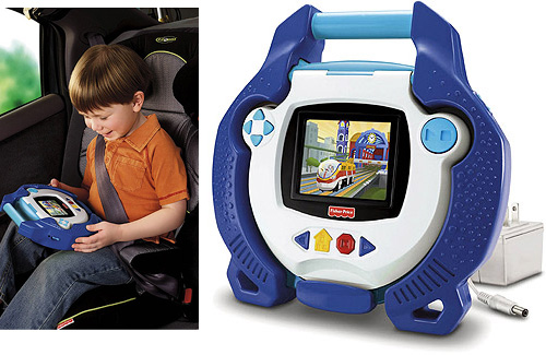Fisher-Price Kid-Tough Portable DVD Player (Images courtesy Walmart)