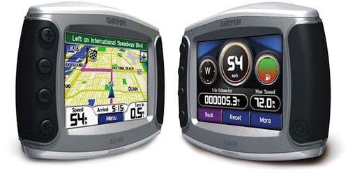Garmin zumo 550 (Images courtesy Garmin)