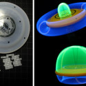 Glow And Throw UFO Flying Disc