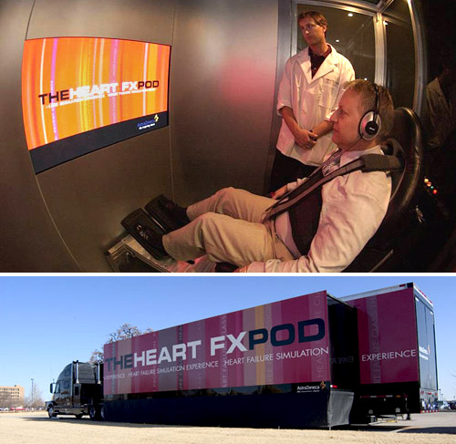 AstraZeneca\'s Heart FXPod (Images courtesy Apple.com)