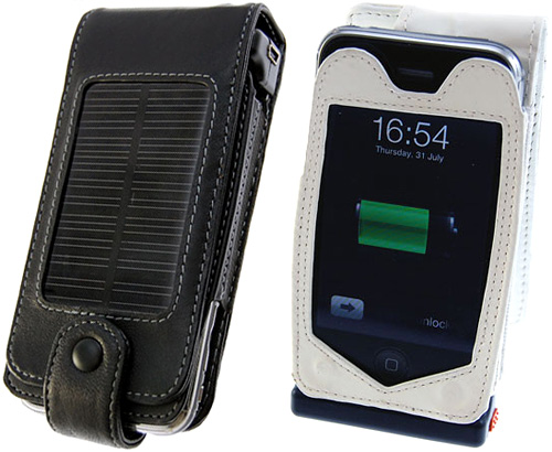iPhone 3G Solar Charging Case (Images courtesy Mobile Fun)