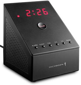 Jacobsen Snooze Alarm Clock Radio (Image courtesy MoMA Store)
