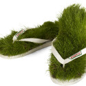 Krispy Kreme Grass Flip Flops… I Have No Idea What's Going On Here