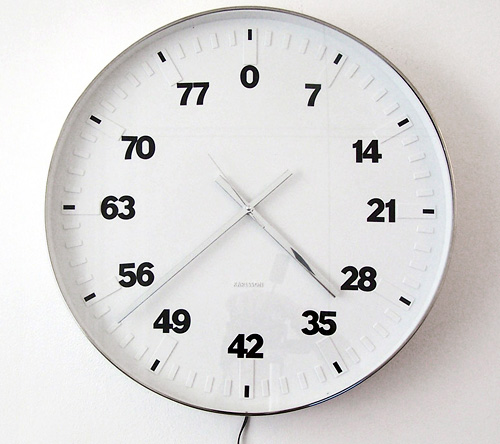 Life Clock (Image courtesy Bertrand Planes)