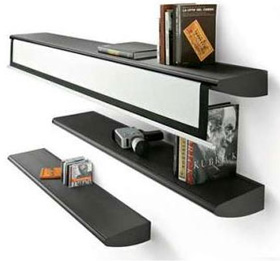 Liv\'it Fly Shelf Projection Screen (Image courtesy Panik-Design)