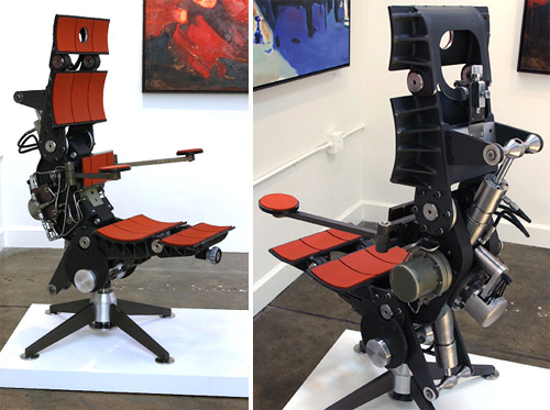 Matrix Unplugged Chair (Images courtesy Device Gallery)