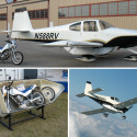 MotoPOD Stashes A Motorcycle Under Your Light Aircraft