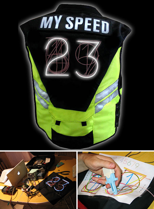 Speed Vest (Images courtesy mykle systems labs)