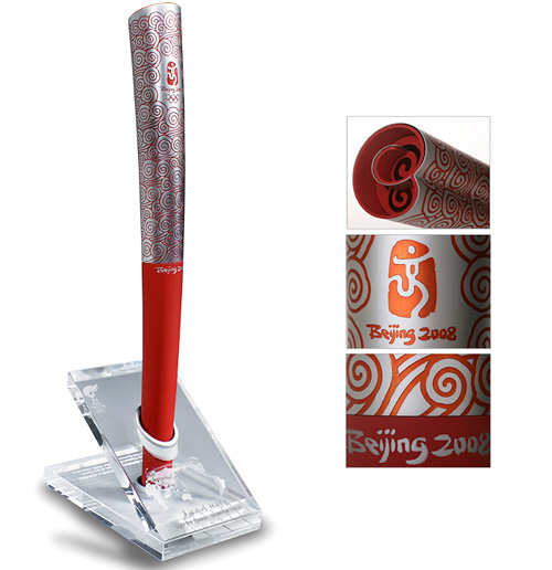 The Classic Edition of the Beijing Olympic Torch (Image courtesy Beijing 2008 Olympic Store)