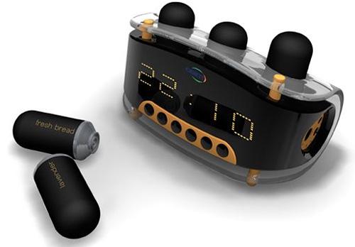 Osim Nioi Alarm Clock Concept (Image courtesy Alfie Lake)