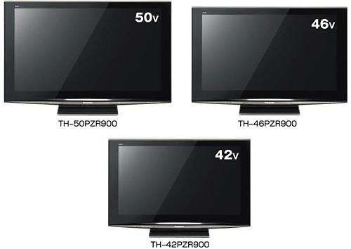 Panasonic PZR900 Plasma TVs (Image courtesy Panasonic)