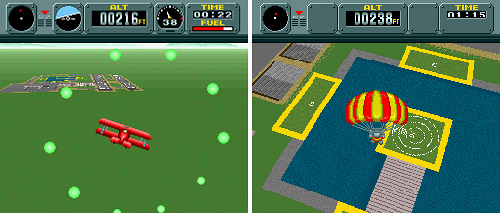 Pilotwings (SNES) (Images courtesy Wikipedia & MobyGames)