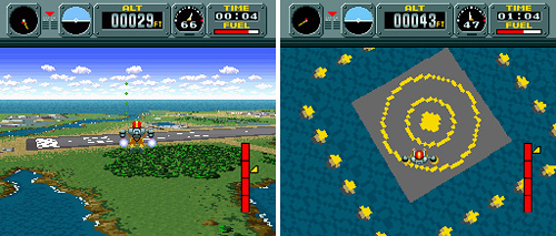 Pilotwings (SNES) (Images courtesy MobyGames)