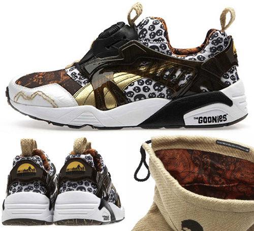 Puma Disc Blaze Goonies Sneakers (Images courtesy ALBOTAS)