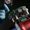 Robot With An Organic Brain