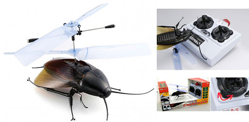 Taiyo R/C Flying Cockroach (Image courtesy Japan Trend Shop)