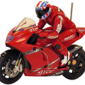 RC Ducati Uses A Real Leaning Rider For Steering
