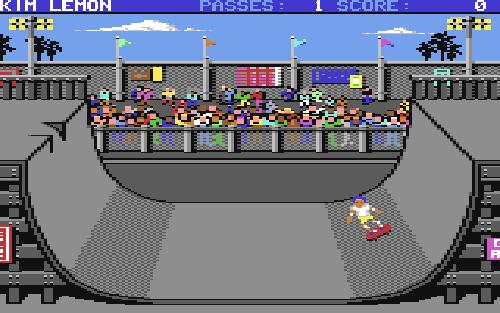 Skate Or Die (Image courtesy Lemon 64)