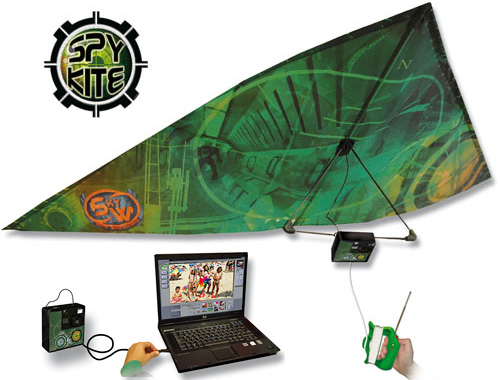 Spy Kite (Image courtesy Gadgetshop)