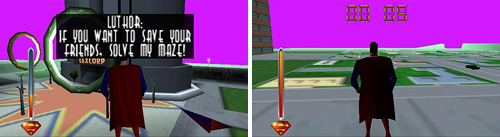 Superman (N64) (Images courtesy MobyGames)
