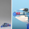 Tamiya Wind Powered Electric Toy Car