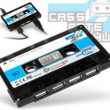 Four Port Cassette Tape Hub