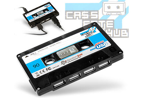 USB Tape Hub (Image courtesy I Want One Of Those)