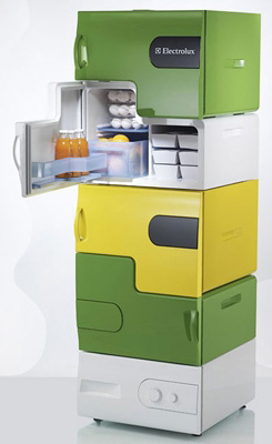 Electrolux Flatshare Fridge (Image courtesy Electricpig)