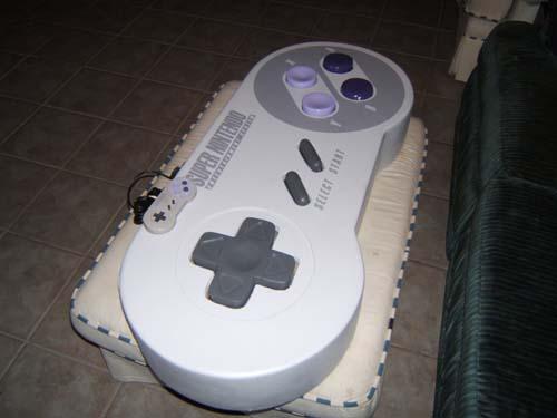 Super Nintendo Controller Gets A Power-UP