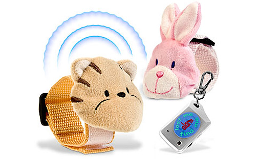 Lost Me Find Me Child Alarms (Image courtesy I Want One Of Those)