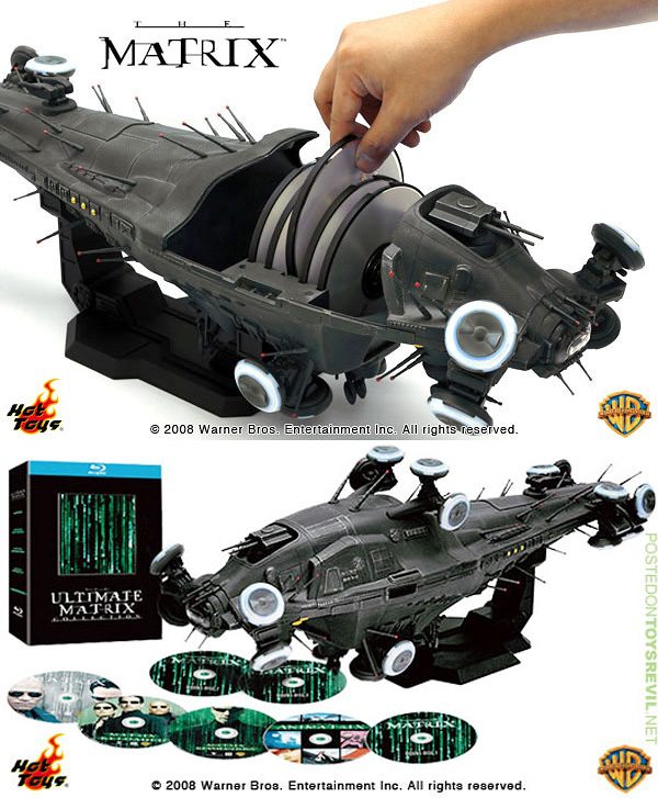 The Ultimate Matrix Collection on Blu-Ray (Images courtesy TOYSREVIL'S I LIKE TOYS)