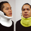 Cell Phone Neck Brace Keeps Your Hands Free To Hide Your Face In Shame