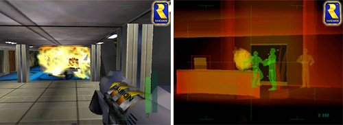 Perfect Dark (N64) (Images courtesy Rare)