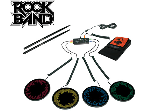 Rock Band Portable Drum Kit (Image courtes Mad Catz)