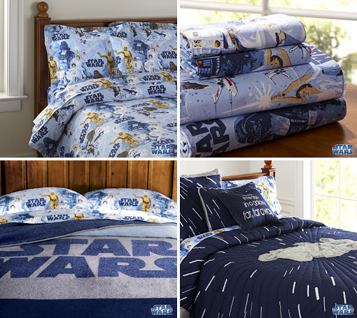 Star Wars Bedding (Images courtesy Pottery Barn Kids)