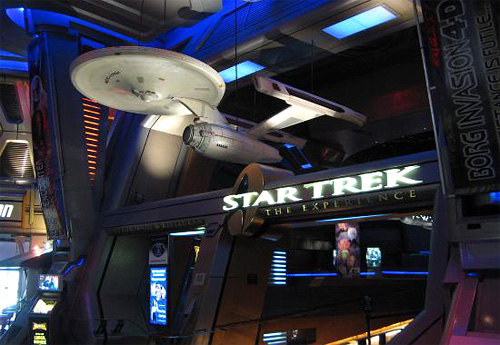 Star Trek: The Experience (Image courtesy Trip Advisor)