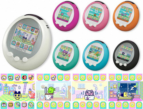 Tamagotchi Plus Color (Images courtesy Bandai)