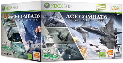 Ace Combat 6 Flightstick Bundle (Image courtesy Planetxbox360.com)