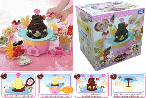 Choco Fountain Sugar Bunnies (Image courtesy Japan Trend Shop)