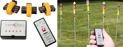 Launch Kontrol - Remote Firework Launcher (Images courtesy Maplin)