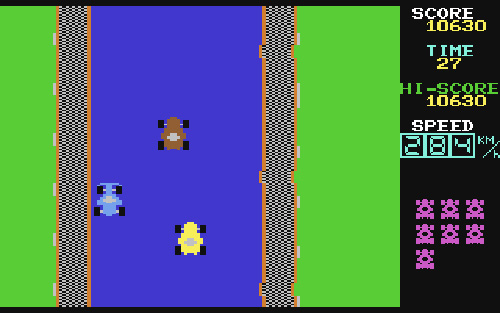 Lemans (C64) (Image courtesy Lemon64.com)