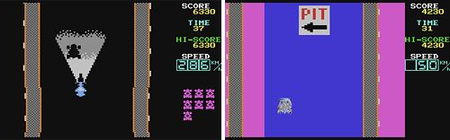 Lemans (C64) (Images courtesy Lemon64.com)