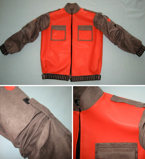Marty McFly BTTF II Jacket (Images courtesy eBay)