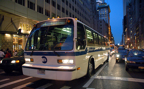 New York City Bus (Image courtesy Robert McConnell)