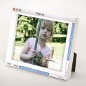 Analog Digital Photo Frame Earns A Double-Take