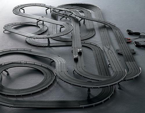 The World's Greatest Shelby Slot Car Racetrack (Image courtesy Restoration Hardware)