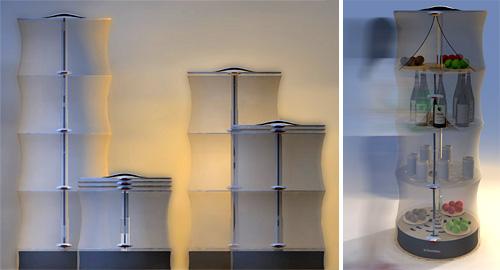 Electrolux Soft-Refrigerator Concept (Images courtesy designboom)