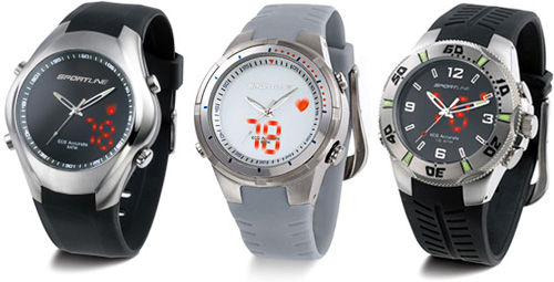 Sportline Watches (Images courtesy Sportline)