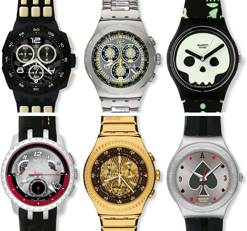 Swatch 007 Villain Collection (Images courtesy Swatch)