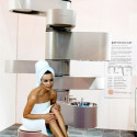 Vertebrae Vertical Bathroom – The Only Installation Limit Is Your Imagination (And A Reinforced Floor)